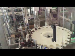 tehdashinta nopea automaattinen korkkikone pyörivään pullonkorkkiin
