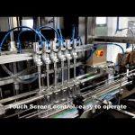 automaattinen 6 pään annostelupesuaine kloorinestettä täyttöaine täyttö konelinja