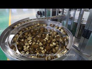 automaattinen servomäntikastike, hunaja, hillo, korkean viskositeetin omaava nesteen täyttölinja