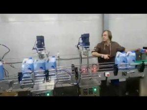 automaattinen syöpymisenestoaineinen WC-puhdistusaine desinfiointiaineen nestemäisen valkaisuaineen täyttölinja