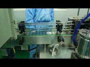30 - 100 ml kaksoisraiteinen täyttö- ja ruuvauskone pyöreälle pullolle