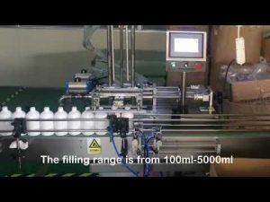 automaattinen 2 suuttimen servoshampoopullojen täyttölaite