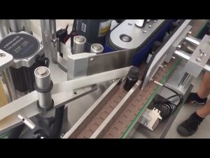 3000 bph automaattisen pystysuoran pullon tarrojen merkintälaite