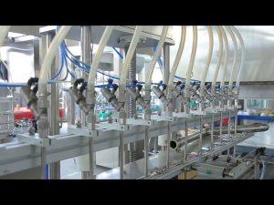 desinfiointiaineen nestemäinen käsisaippualkoholipullojen täyttökone