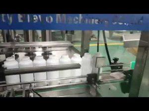 pyykinpesuainepullojen täyttö kone, pesuaineen nestemäinen tuotantolinja