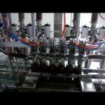 lineaarinen automaattinen 4 pään mäntäpullo viskoosinen ketsupikastike nestepakkaus täyttö kone