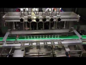 automaattinen alkoholin puhdistusgeelitäyttö kone päivittäiseen kemianteollisuuteen