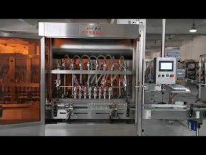 täydellinen automaattinen tomaatti kastike servo täyttö kone