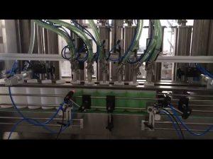 mäntä nestesaippua pullon täyttö kone