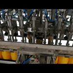 12-pää automaattinen pullojen täyttökone ketsupiöljyjen kastikekosmetiikkaan