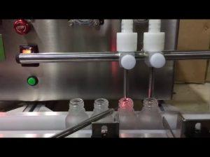 mini kokoinen, automaattisen pienen injektiopullon eteerisen öljyn nestemäinen täyttökone myytävänä
