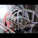 myytävänä täydellinen automaattinen kynsilakkapullo cbd hamppuöljyn täyttö kone