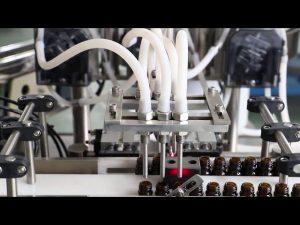 120ml oliiviöljyn pesuainetta täyttö- ja korkkikone