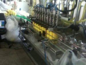 automaattinen männän sukellussuuttimien shampoon täyttö kone