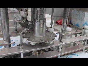 automaattinen yhden pään muovipullojen pyörivä korkkikone