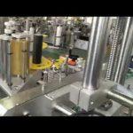 automaattinen muovi- ja lasipullopurkin tarramerkintälaite