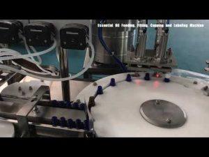 lasipullo hajusteiden täyttö kone, kosmeettinen voide täyttö