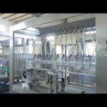 tehtaan automaattinen lineaarinen viskoosinen nestemäinen syötävä öljypullopurkki täyttö kone