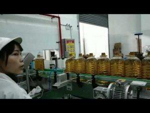 voiteluautomoottori hydraulinen auton pumpun öljypullon täyttö tuotantolinjan kone